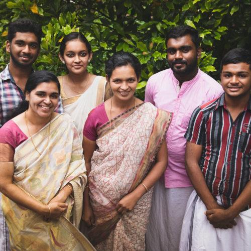 The Venattu Family, Kumily.