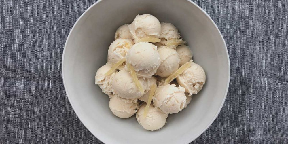 Coconut and Candied Ginger Kulfi